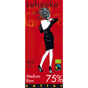 Zotter Labooko Medium Raw